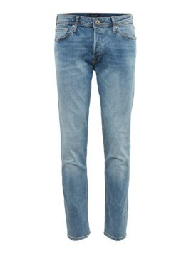 JACK & JONES Jeansy 'JJIMIKE JJORIGINAL AM 727 LID' niebieski denim