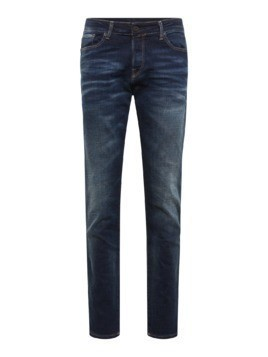 JACK & JONES Jeansy 'JJIMIKE JJICON BL 650 NOOS' niebieski denim