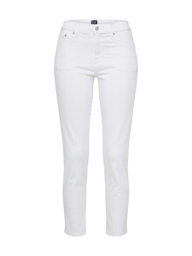 GAP Jeansy 'SOFT WHITE' biały denim