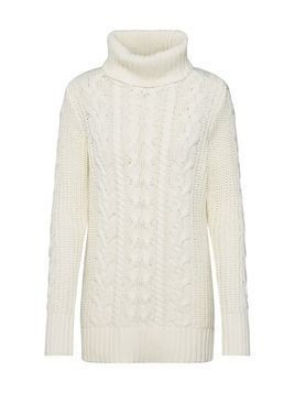 GAP Sweter 'SH CABLE TNECK' kremowy