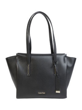 Calvin Klein Torba shopper 'FRAME MEDIUM' czarny