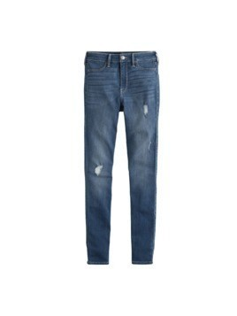 HOLLISTER Jeansy 'MEDIUM DEST' niebieski denim