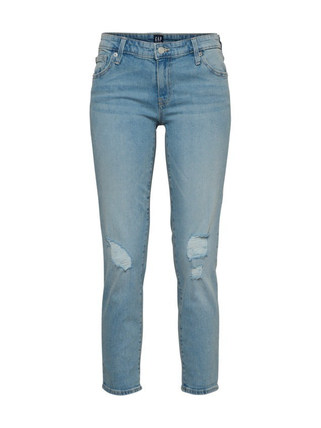 GAP Jeansy 'GIRLFRIEND DESTRUCTED' niebieski denim