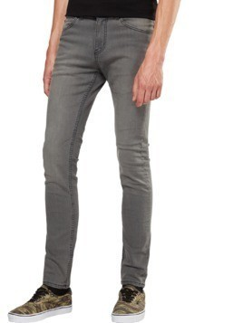 CHEAP MONDAY Jeansy szary denim