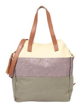PIECES Torba shopper 'PCSJANNE' khaki