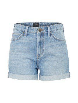 Lee Jeansy 'MOM SHORT' niebieski denim