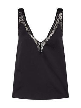 Free People Top 'All in my Head Cami' czarny