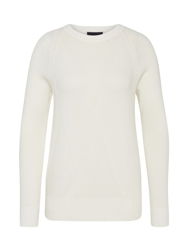 OBJECT Sweter 'OBJHOBY MORGAN' offwhite