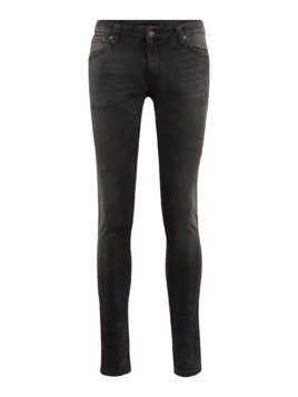 Nudie Jeans Co Jeansy 'Skinny Lin' czarny denim