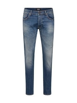 Tigha Jeansy 'Morten' niebieski denim
