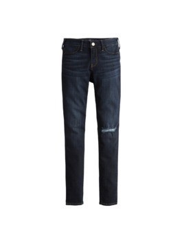 HOLLISTER Jeansy niebieski denim