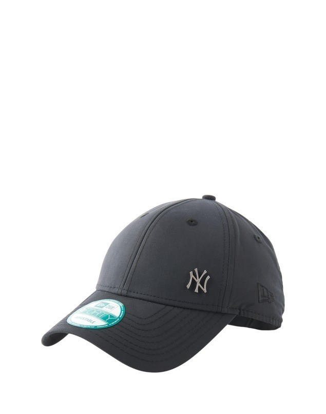 NEW ERA Czapka z daszkiem '9FORTY Flawless Logo Metall New York Yankees' czarny