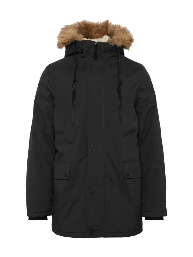 NEW LOOK Parka zimowa 'TRADITIONAL' czarny