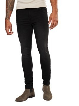 Only & Sons Jeansy 'onsWARP BLACK 7013 CR NOOS' czarny denim