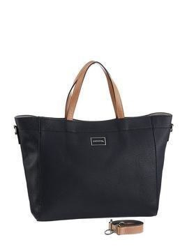COMMA Torba shopper 'Beautiful Smile Shopper' ircha / ciemny niebieski