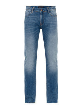 Cross Jeans Jeansy 'Johnny' niebieski denim