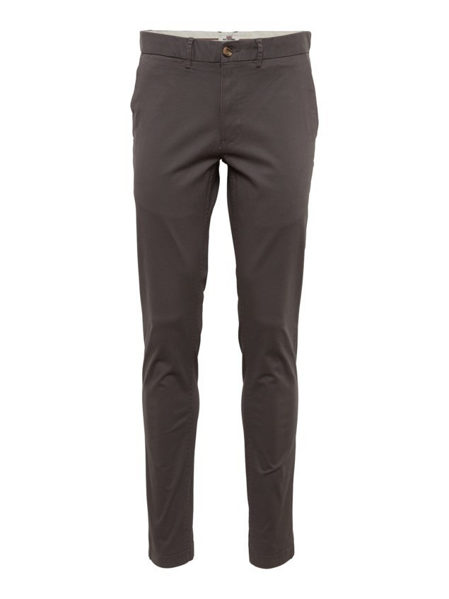 Ben Sherman Chinosy 'SLIM STRETCH' ciemnoszary