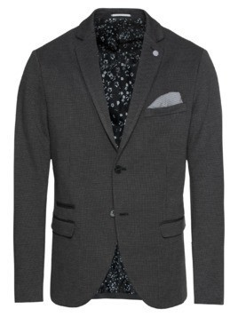 SELECTED HOMME Marynarka 'SLHONE-CARL BLAZER B NOOS' antracytowy