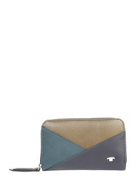 TOM TAILOR Portmonetka 'Shirin Wallet' niebieski / zielony