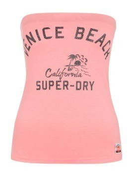 Superdry Top 'BOARDWALK' koralowy