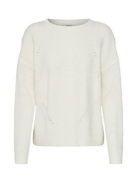 PIECES Sweter offwhite
