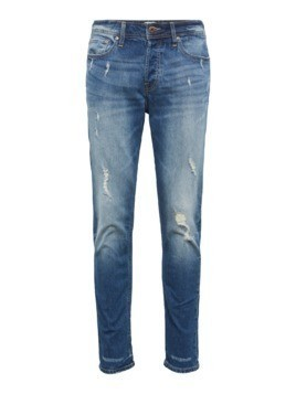 JACK & JONES Jeansy 'TIM ORIGINAL CR 004' niebieski denim