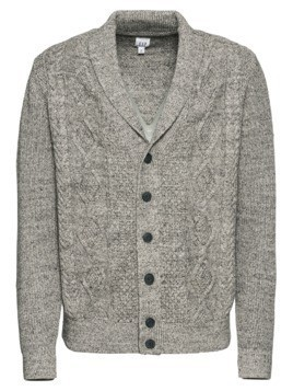 GAP Kardigan 'BUDDING CABLE SHAWL CARDI' szary