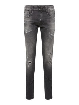 REPLAY Jeansy 'Anbass' szary denim