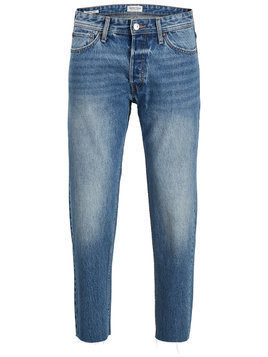 JACK & JONES Jeansy 'JJIFRED JJORIGINAL CR 073 CUT OFF LTD' niebieski denim