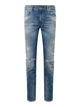 BOSS Jeansy 'Maine BC-L-C 10216234 01' niebieski denim