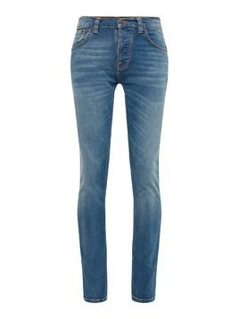 Nudie Jeans Co Jeansy 'Grim Tim' niebieski denim