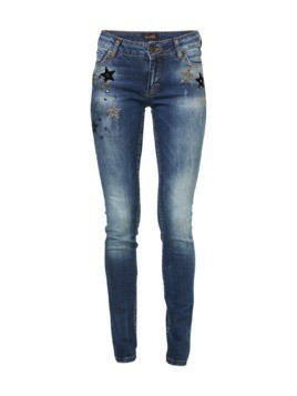 Miss Goodlife Jeansy niebieski denim