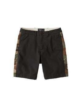 Abercrombie & Fitch Spodnie 'CPF 9IN CHARCOAL' zielony