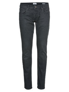 EDC BY ESPRIT Jeansy 'COATED Slim DNM' szary denim