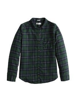HOLLISTER Bluzka 'LS XMAS PLAID' zielony