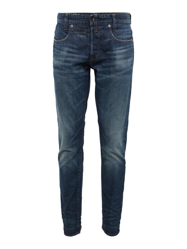 G-STAR RAW Jeansy 'D-Staq 5-pkt Tapered' niebieski denim