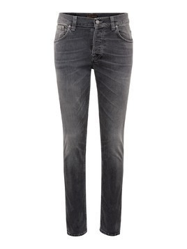 Nudie Jeans Co Jeansy 'Grim Tim' szary denim