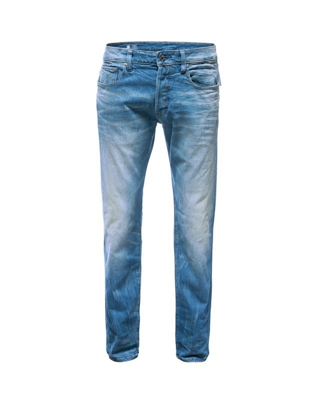 G-STAR RAW Jeansy '3301 Straight' niebieski denim