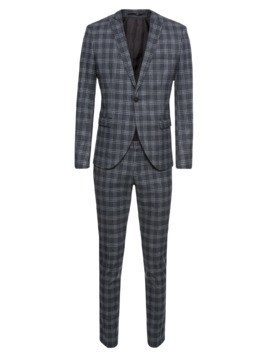 SELECTED HOMME Garnitur 'SHDZERO-TADOTTO SUIT' granatowy