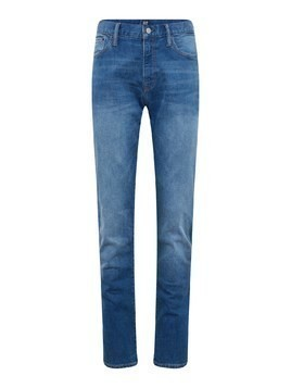 GAP Jeansy 'SLIM STRAIGHT STR BRIGHT MEDIUM' niebieski denim