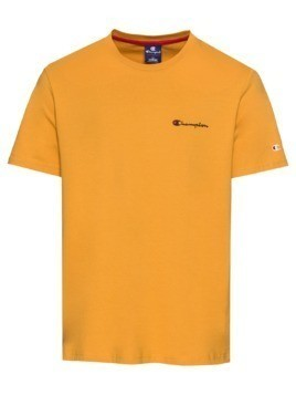 Champion Authentic Athletic Apparel Koszulka 'Crewneck T-Shirt' żółty