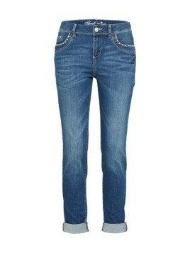 TOM TAILOR Jeansy niebieski denim