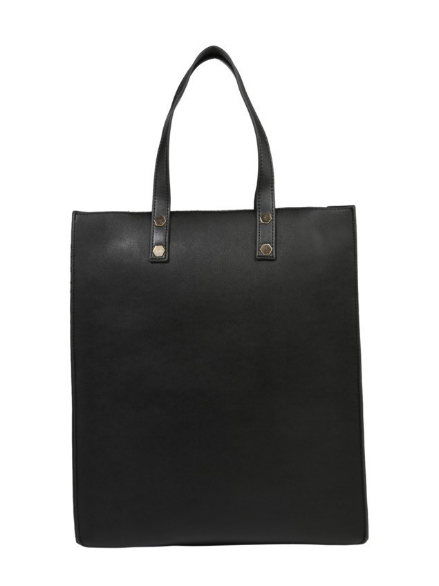 PIECES Torba shopper 'Pcgunnel' czarny
