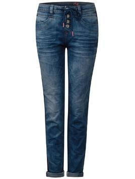 STREET ONE Jeansy 'Key-Denim-Bonny' niebieski denim