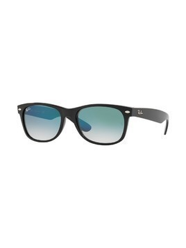 Ray-Ban - Okulary New Wayfarer Green-Clear Gradient