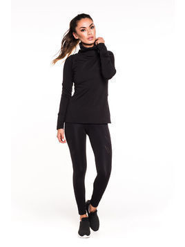 Gym Hero - Bluza Runner Black
