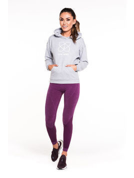 Gym Hero - Bluza Grey Hero