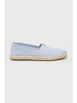 Toms - Espadryle Chambray Dots On Rope