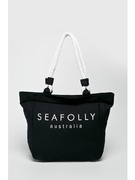 Seafolly - Torba plażowa Canvas Rope Tote