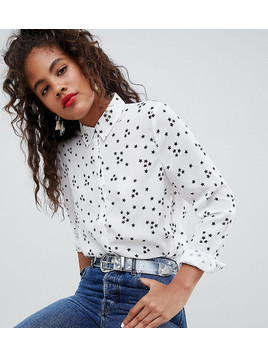 ASOS DESIGN Tall Shirt In Star Print - Multi